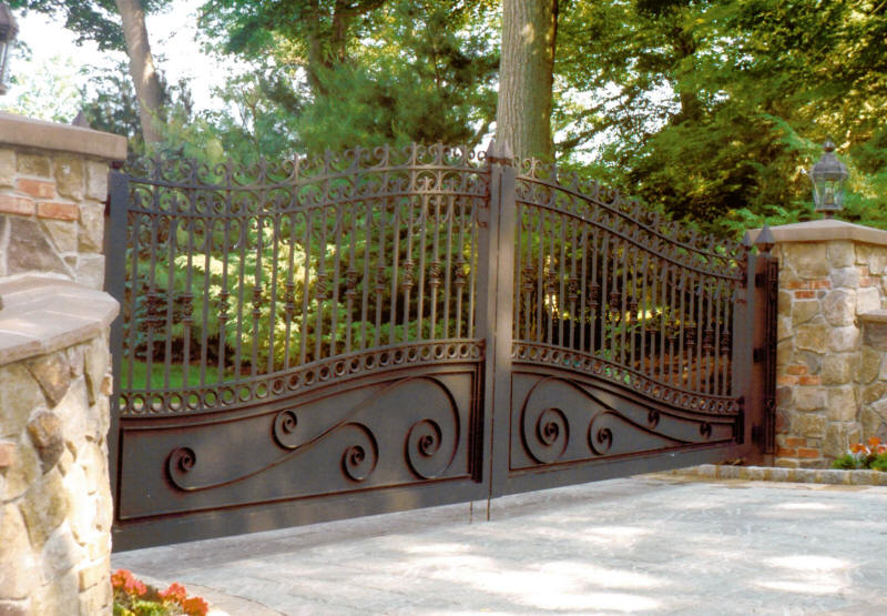 This Kind of Gate Is Also Referred To As Decorative Estate Gates
