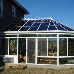 Glass Conservatory Sunroom Amrilio
