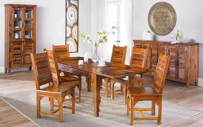 Hardwood-Furniture-dining-room-set