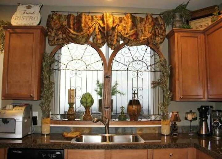 Tuscan Kitchen Curtains Amrilio
