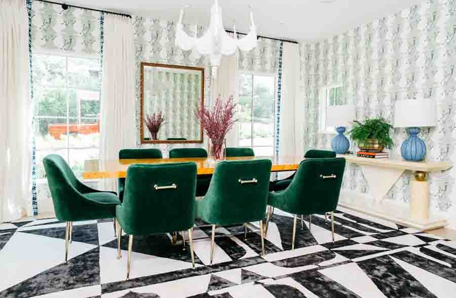Vivid-formality-green-emerald-Formal-Dining-Room-Sets-amrilio