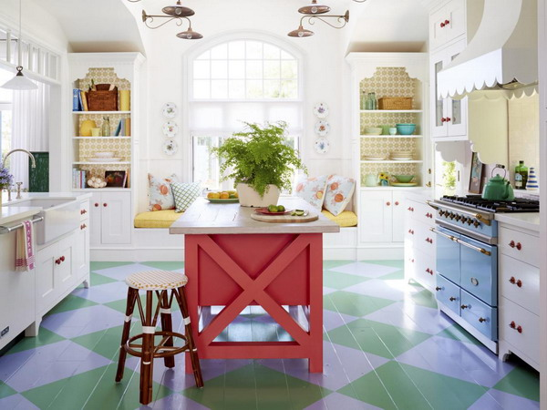 sweet-colorful-cottage-by-alison-kandler2-1, Colorful Cottage, Cottage, Cottage ides, Cottage decoration, Alison Kandler, amrilio.com