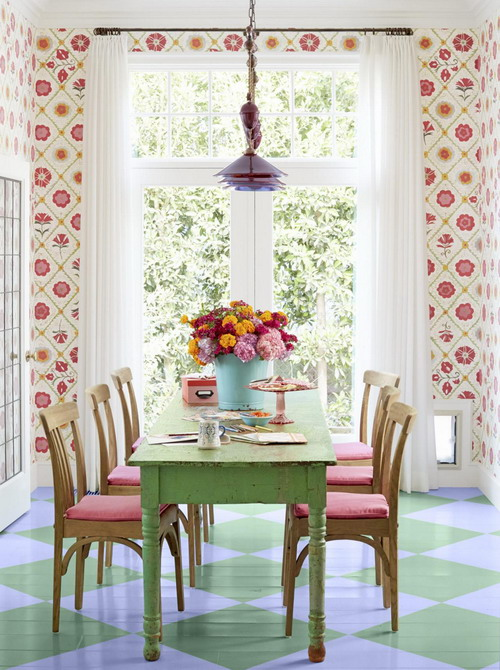 sweet-colorful-cottage-by-alison-kandler3-1, Colorful Cottage, Cottage, Cottage ides, Cottage decoration, Alison Kandler, amrilio.com