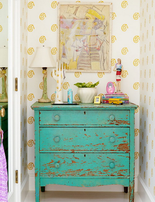 sweet-colorful-cottage-by-alison-kandler6-4, Colorful Cottage, Cottage, Cottage ides, Cottage decoration, Alison Kandler, amrilio.com